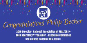 Congratulations Philip Becker